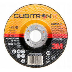 3M Cubitron II grinding...