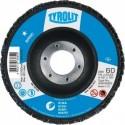 Premium flap wheels 125/40 KONISCH